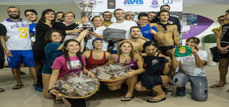 Christmas Swimming Race, 12h in acqua per solidarietà