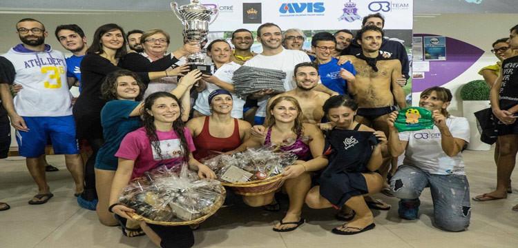 Christmas Swimming Race, 12h in acqua per solidarietà