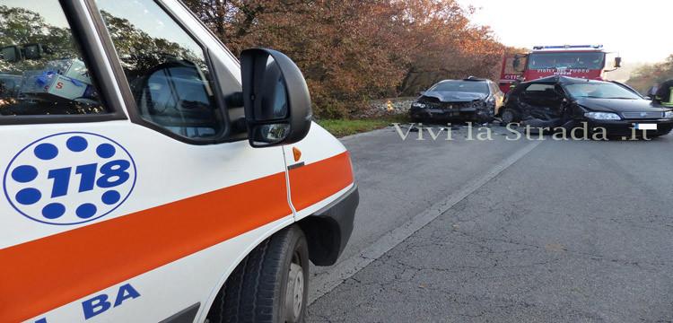 Incidente sulla provinciale per Barsento, grave nocese