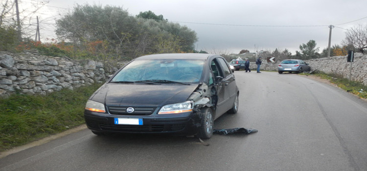 Incidente sulla provinciale per Massafra