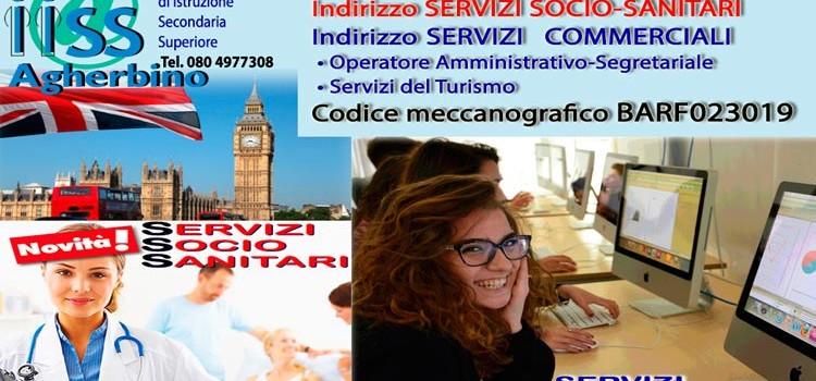 "IISS ""A. Agherbino"": al via i ""servizi socio-sanitari"""