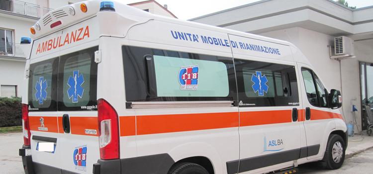 Nuova ambulanza anche al presidio di Noci