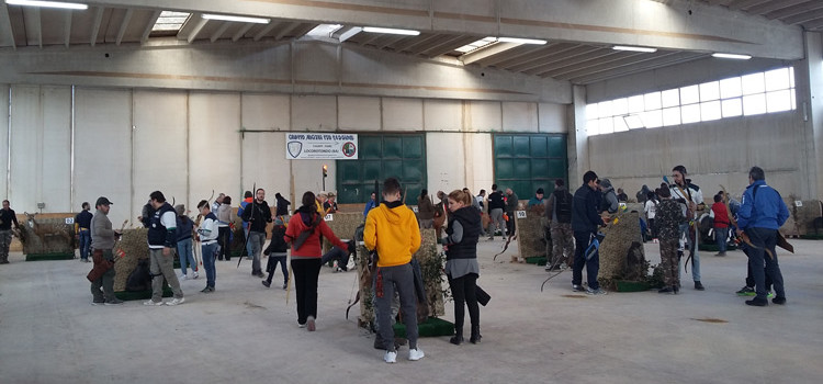 2° Trofeo della Befana indoor 3D, a Noci arcieri del sud Italia