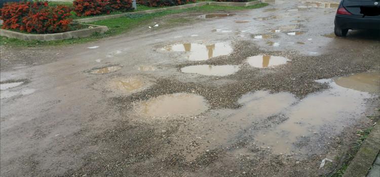 Buche stradali all'interno del parcheggio del cimitero comunale, FI Giovani scrive al sindaco