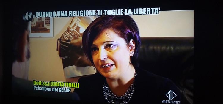 Tornano Le Iene, la psicologa Tinelli va in tv