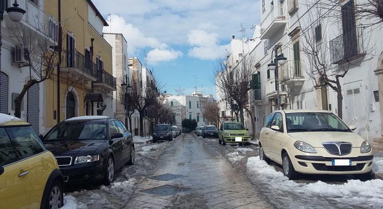 via-calvario-neve