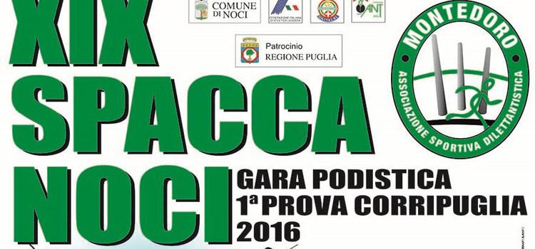 XIX Spaccanoci, il 6 marzo via al Corripuglia 2016