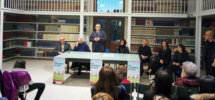 La biblioteca comunale inaugura la nuova sala di lettura per bambini e ragazzi