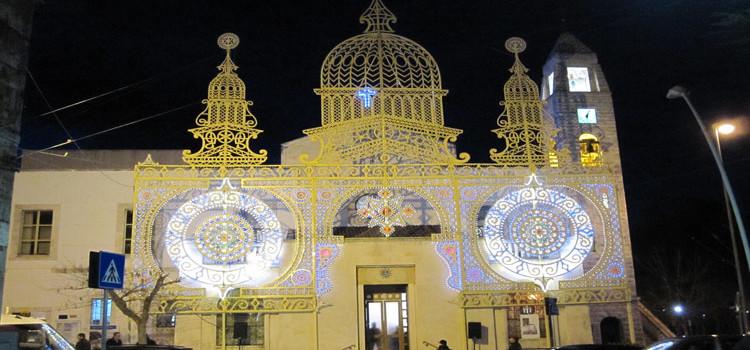 """Luminarie """"sonore"""" per festeggiare la Madonna di Lourdes"""