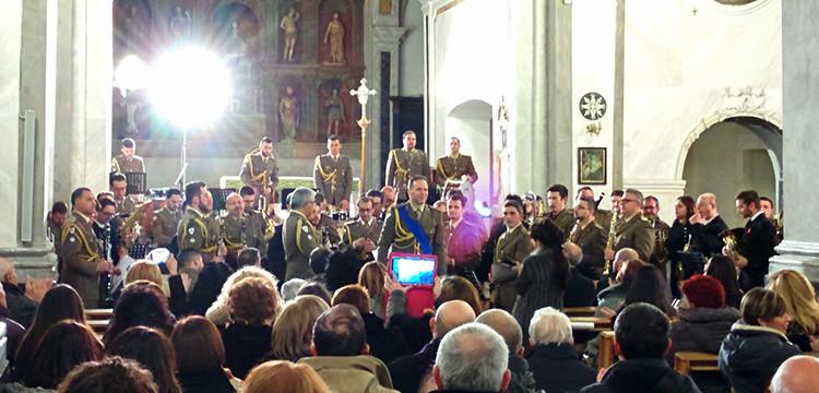 Banda Musicale dell'XI Centro di Mobilitazione del Corpo Militare della Croce Rossa Italiana, omaggio ai 150 anni della sua nascita
