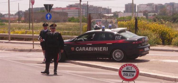 Sicurezza stradale: maxi operazione dei Carabinieri in tutta la regione
