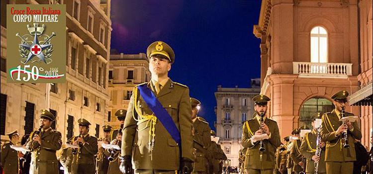 Banda Musicale dell'XI Centro di Mobilitazione del Corpo Militare della Croce Rossa Italiana, sabato concerto a Noci
