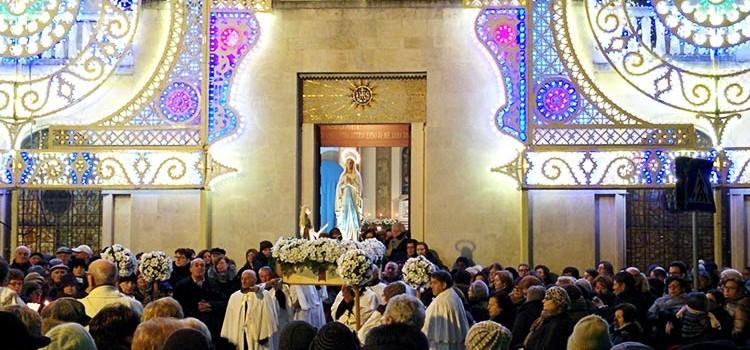 Grandi festeggiamenti in onore della Madonna di Lourdes