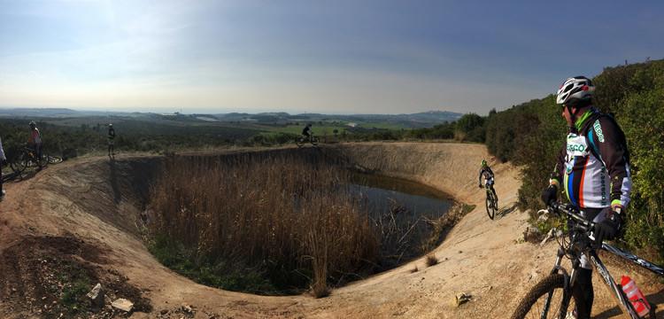 Ciclotrekking nel Parco delle Gravine, inizia la stagione di Nocinbici