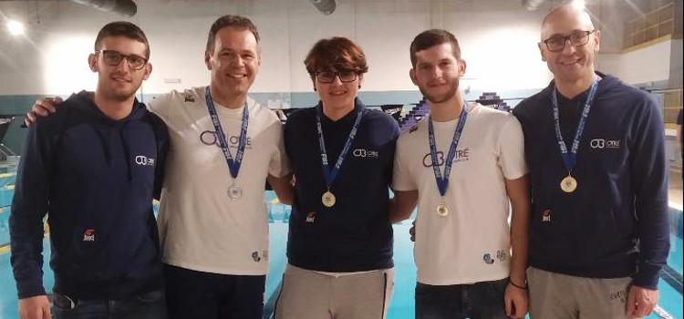 Otrè: il campionato regionale di nuoto si tinge di oro e argento