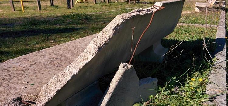 Il parco della Madonna della Croce richiede urgente manutenzione