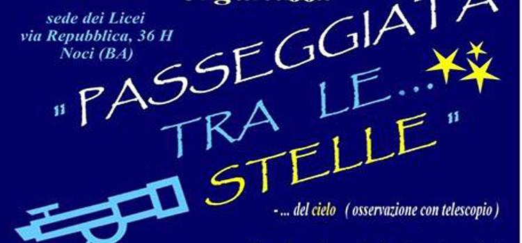 """""""Passeggiata tra le stelle"""" al liceo Da Vinci-Galilei"""