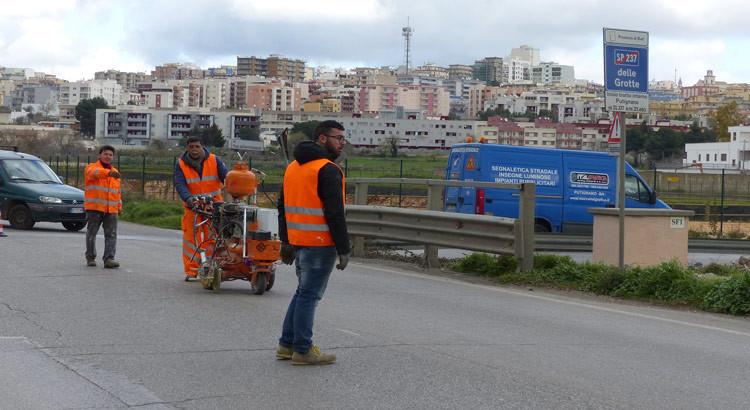Cantierizzazione della SP 237 Noci-Putignano, più sicurezza sulla provinciale