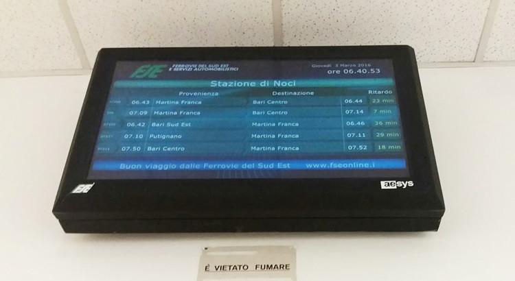 Ferrovie Sud-Est: quando la puntualità non è di casa