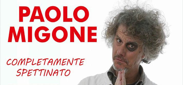 Completamente spettinato, Paolo Migone a Noci