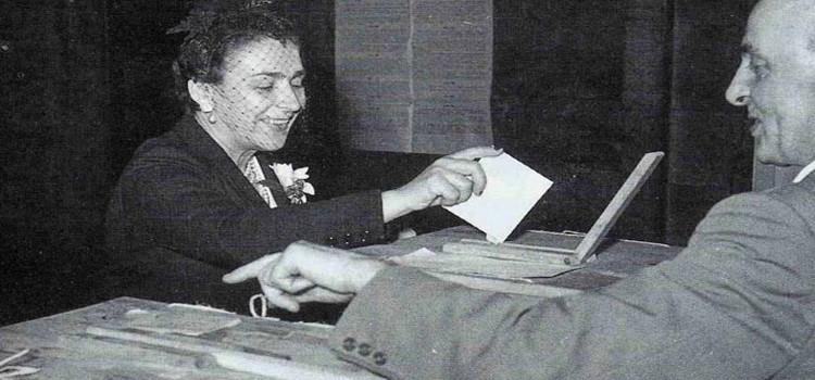 """PD: Il """"tempo"""" delle donne, 70anni di diritto di voto"""