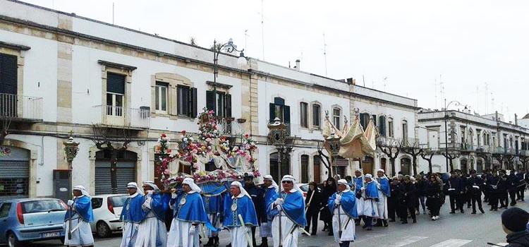 I riti della settimana santa in Puglia