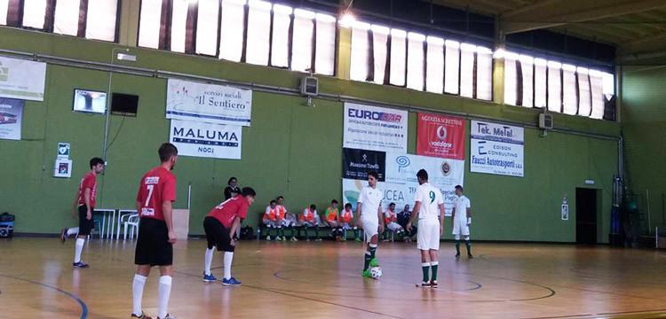 Noci Calcio a5: obiettivo playoff raggiunto