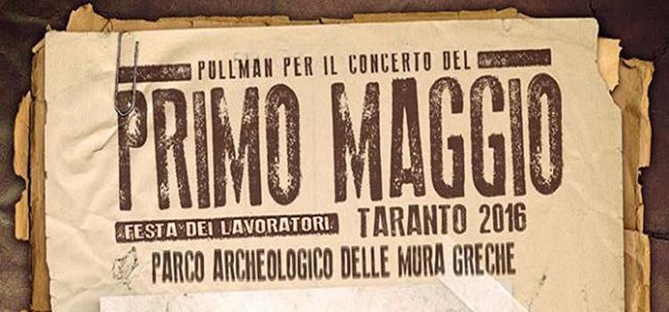 1 Maggio, bus per Taranto