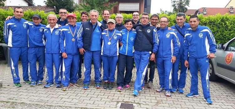 La Montedoro tra le prime 10 al campionato italiano master su strada