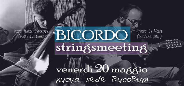 BucoBum: BICORDO – stringsmeeting