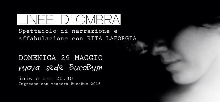 Linee d'ombra, spettacolo di narrazione con Rita Laforgia