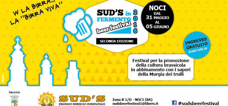 Sud's in fermento beer festival