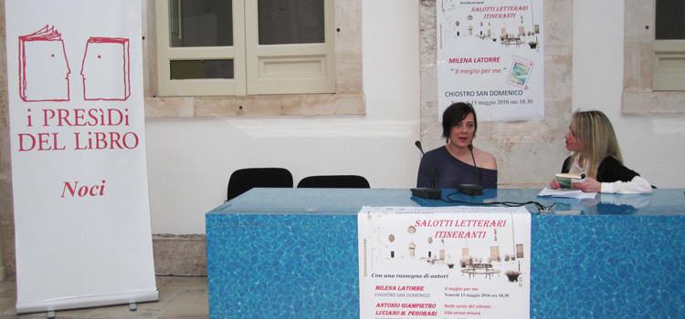 """Milena Latorre presenta """"Il meglio per me"""""""