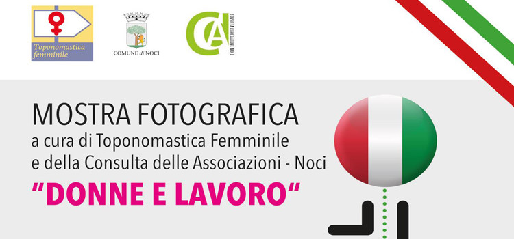 """""""Donne e Lavoro"""", mostra di toponomastica femminile al Chiostro San Domenico"""