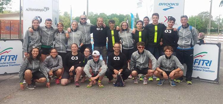 Triathlon: Otrè TT youth al campionato italiano di Cremona