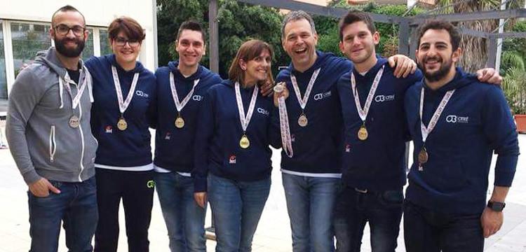 Nuoto: Otrè Master vince 28 medaglie al trofeo Speedo Dna Nadir