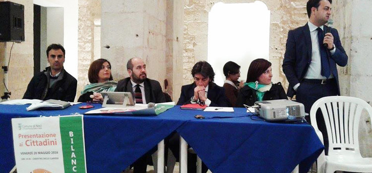 Presentazione del bilancio di previsione 2016: scuola, ambiente, viabilità nell'agenda dell'amministrazione