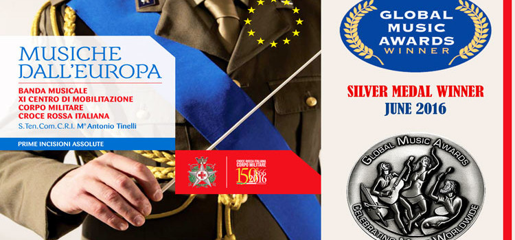 Banda Militare CRI premiata al Global Music Awards