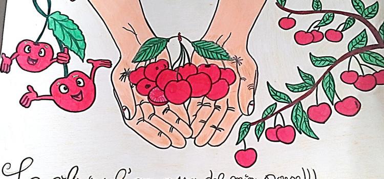 La ciliegia si fa disegno