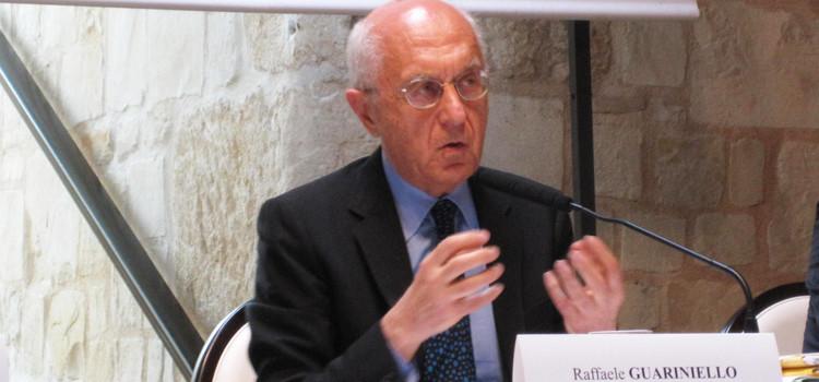 """Raffaele Guariniello a Noci: """"bisogna applicare le leggi"""""""