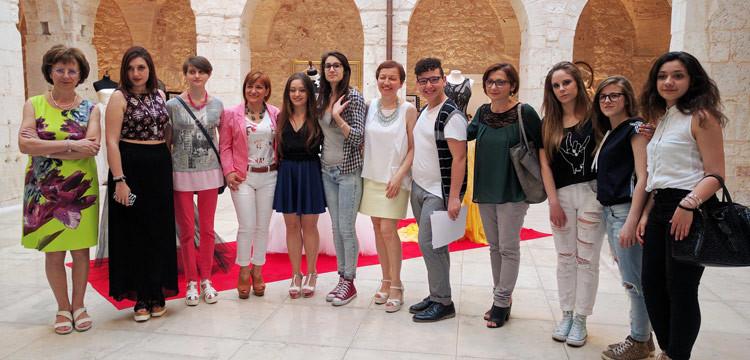"""""""Fusion Style"""", la mostra organizzata dai ragazzi del settore moda dell'IISS Agherbino"""
