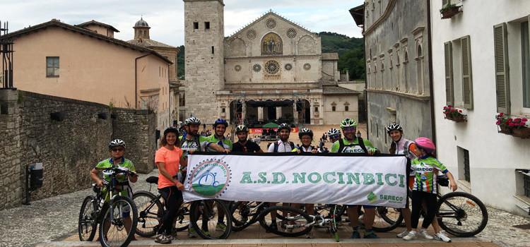 Spoleto – Norcia: i bikers della Nocinbici percorrono la ferrovia dismessa