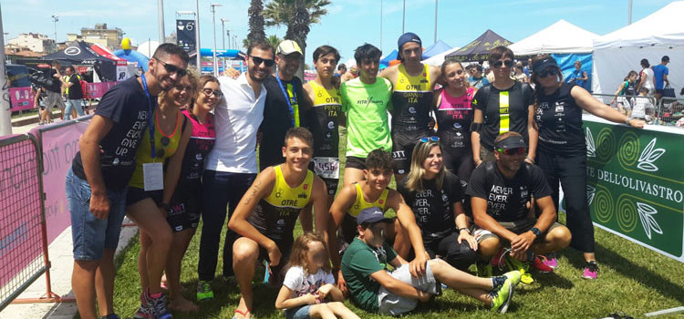 Otrè TT ai Campionati giovanili di aquathlon a Porto Sant'Elpidio