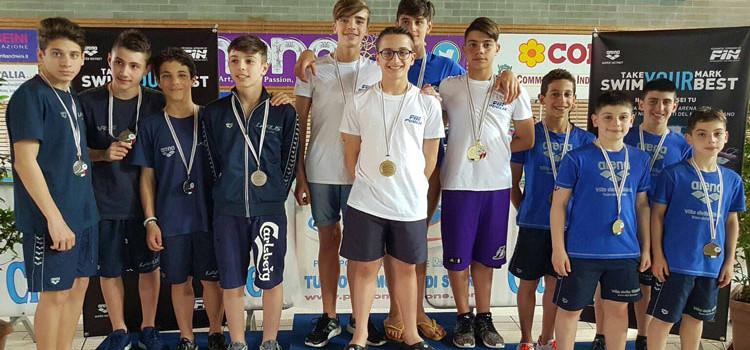 Otrè Nuoto: Gentile tra i protagonisti del Trofeo Internazionale di Riccione