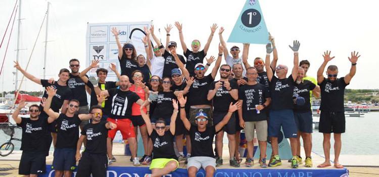 """Calaponte Triweek, Intini: """"Ogni componente della Otrè Triathlon Team è orgogliosa"""""""