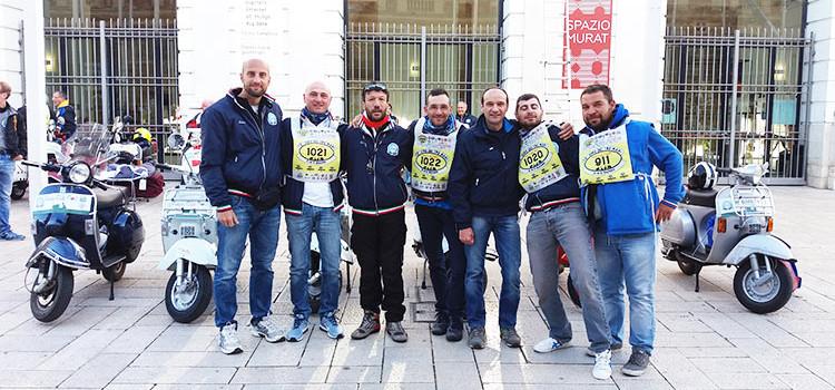 """Il Vespa Club Noci presente al """"Giro dei Tre Mari"""""""