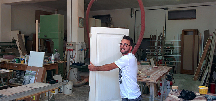 Nicola Sabatelli, tra i più giovani artigiani nocesi
