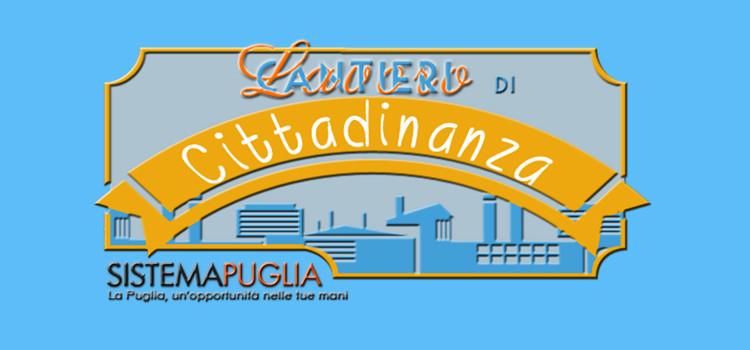"""Al via i """"Cantieri di Cittadinanza"""""""