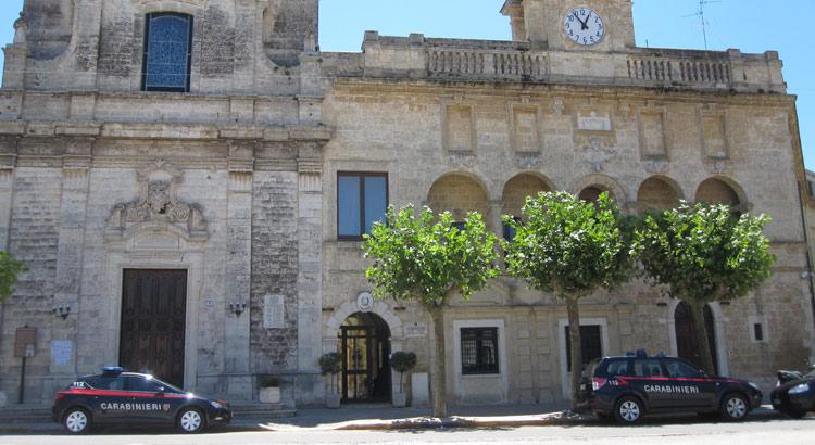 Palazzo San Francesco, sede del Comando Compagnia CC Gioia del Colle