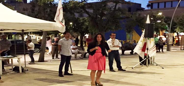 M5S in Piazza Garibaldi per parlare di Microcredito